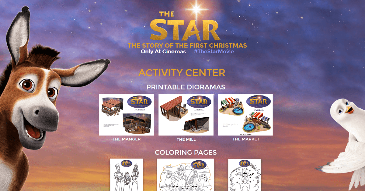 Free Printable Adult Coloring Page - Detailed Star Pattern - What ... | 630x1200